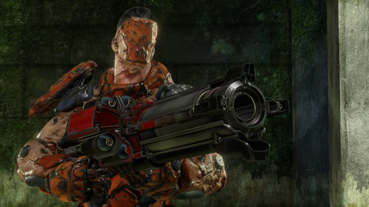 نسخهی بهبود یافتهی سیستم Gore بهزودی به Quake Champions راه مییابد