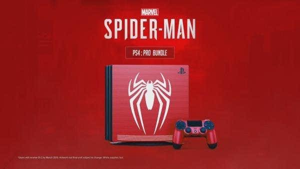 شایعه: باندل پلیاستیشن ۴ بازی Spider-Man عرضه خواهد شد