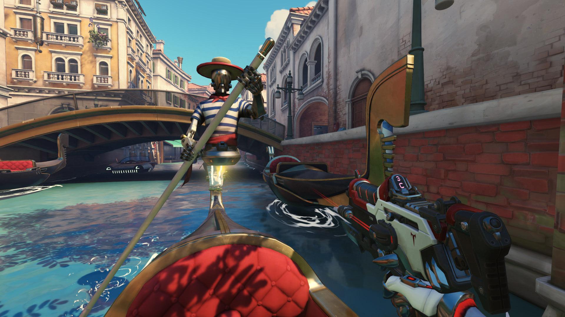 بازیکنان Overwatch میتوانند با کشتن رباتهای gondolier امتیاز ویژه به دست آورند