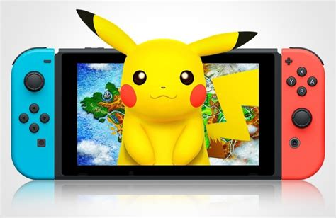 به نظر میرسد نسخه نینتندو سوییچ عنوان Pokemon به زودی معرفی شود