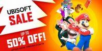 تخفیفات عناوین شرکت یوبیسافت در فروشگاه دیجیتالی نینتندو