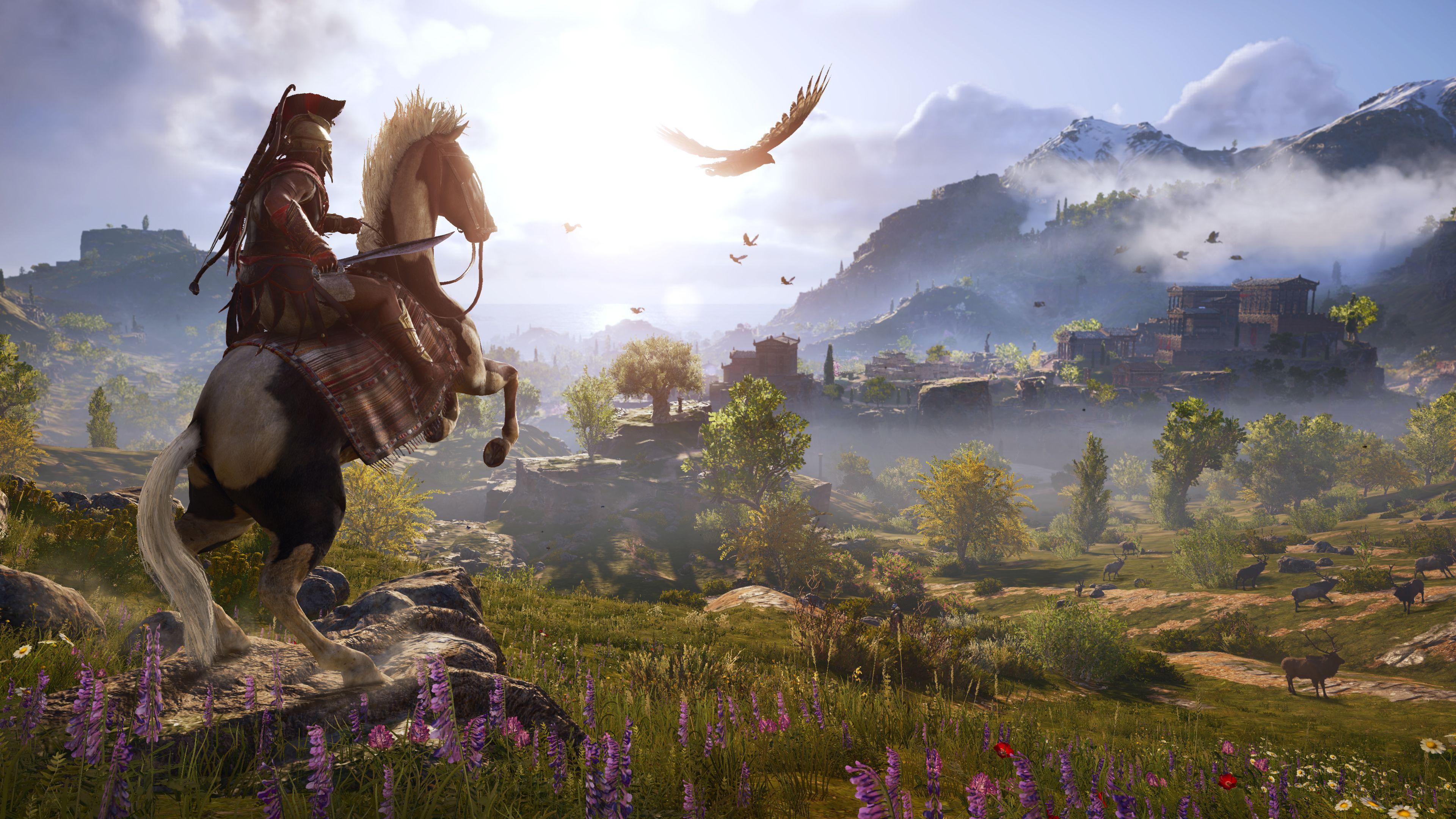 گیمپلی جدیدی از Assassin's Creed Odyssey منتشر شد