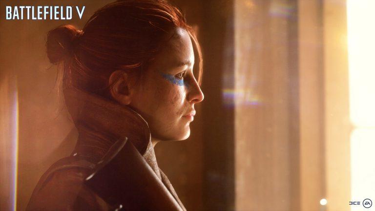 دختر مرموز و پرحاشیه Battlefield V