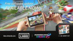 پشتیبانی از Nintendo Labo در بهروزرسانی جدید Mario Kart 8 Deluxe