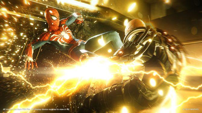 E3 2018 | تصاویر جدیدی از Spider-Man با کیفیت ۴K منتشر شد