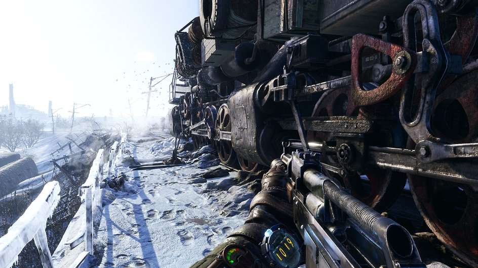 Metro Exodus | ابعاد منطقهی نسخهی آزمایشی بازی در E3، از بزرگترین منطقهی نسخهی قبل ۲۰ برابر بزرگتر بود