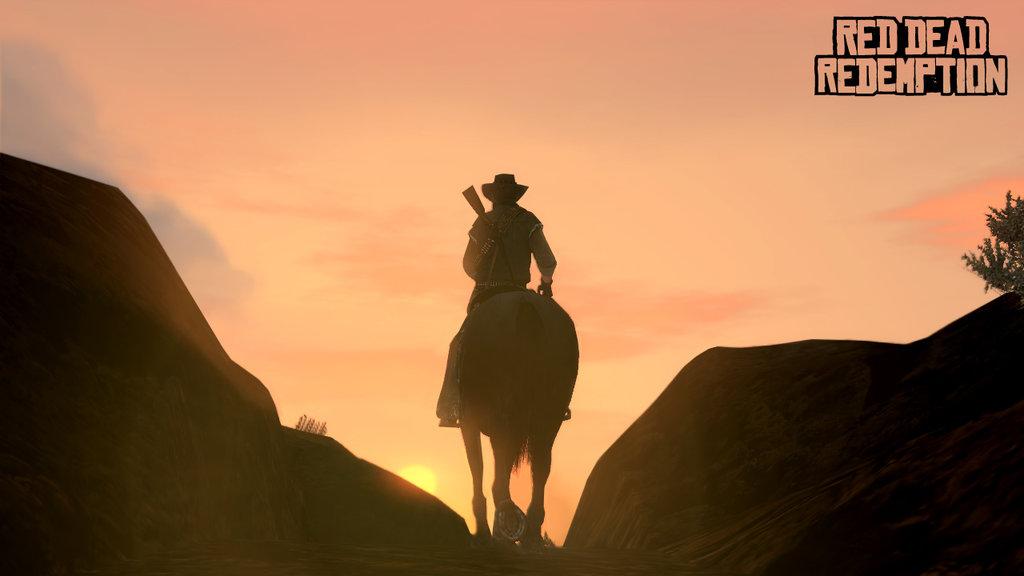 گیمپلی نمایش داده شده از Red Dead Redemption 2 برروی پلیاستیشن ۴ پرو اجرا شده است
