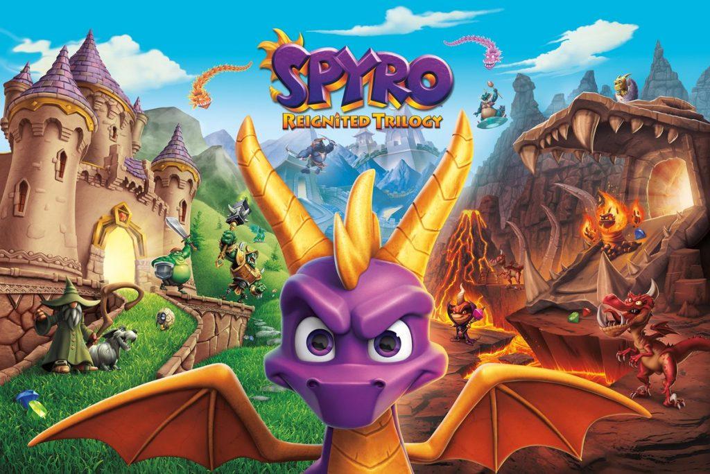 E3 2018 | انتشار تریلری جدید از گیم پلی بازی Spyro Reignited Trilogy