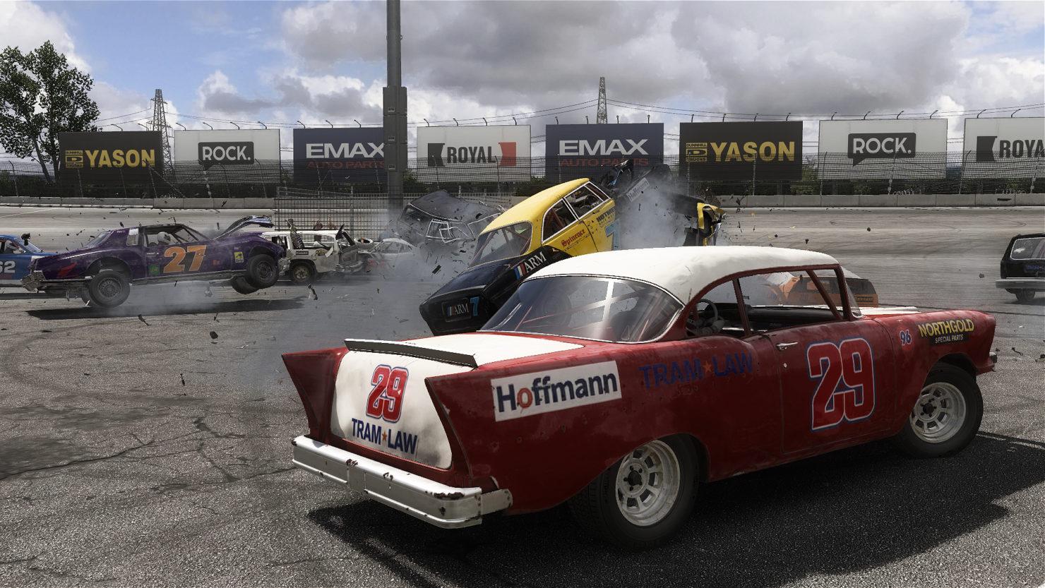 تخریب ماشینها در جادهی موفقیت | نقدها و نمرات بازی Wreckfest منتشر شد