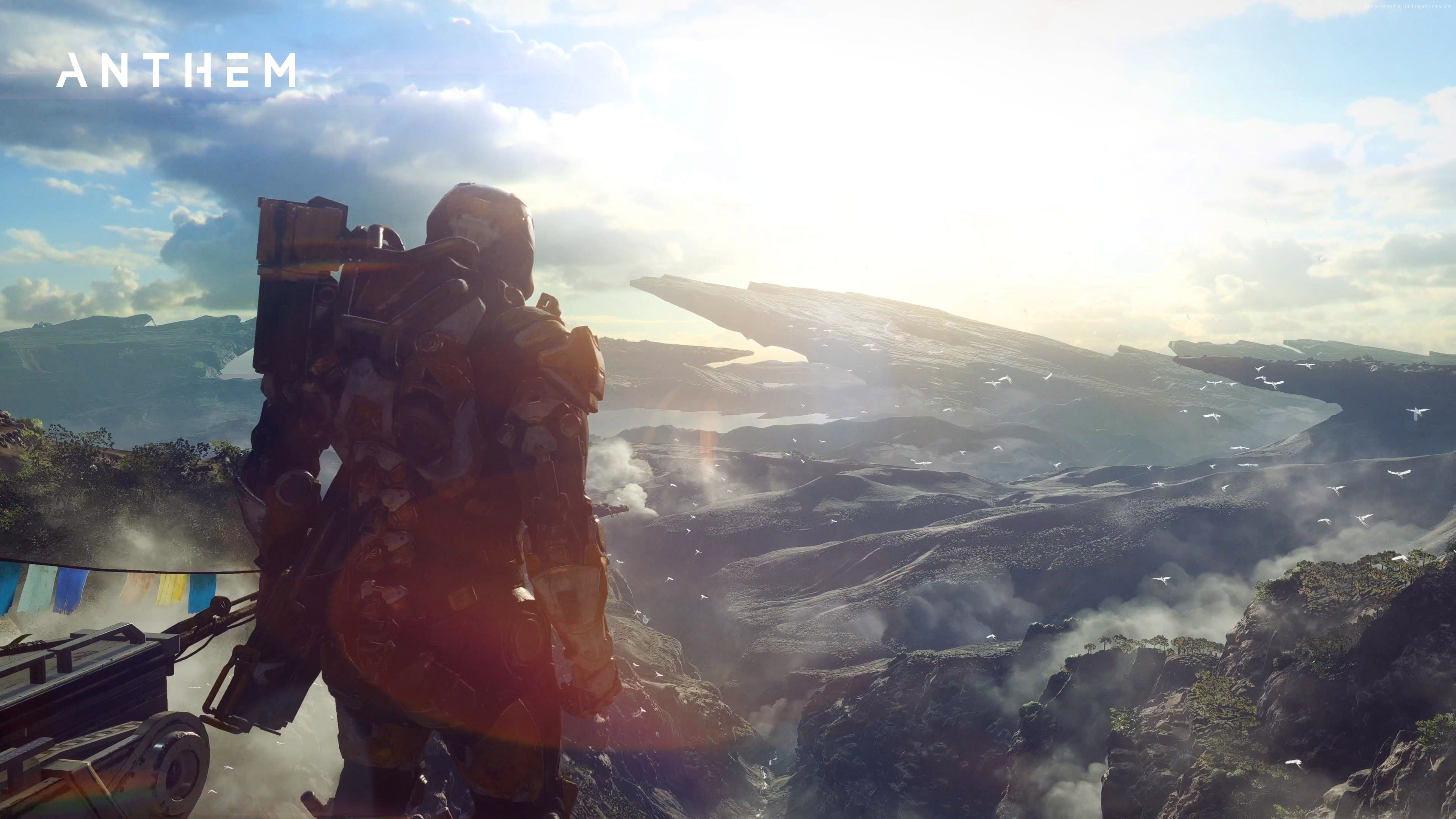 گیمپلی جدید Anthem با رزولوشن ۴K فوقالعاده به نظر میرسد