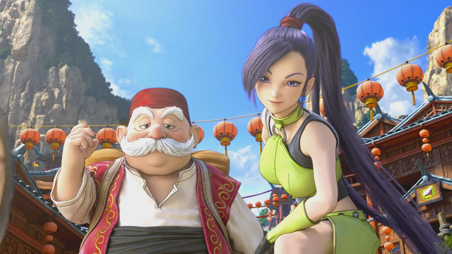 تریلری از گیمپلی Dragon Quest 11 منتشر شد
