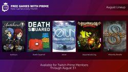 معرفی بازیهای رایگان Twitch Prime در ماه اوت