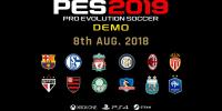 نسخه دمو PES 2019 در ماه اوت عرضه خواهد شد