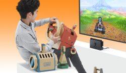 از بسته وسائل نقلیه Nintendo Labo با انتشار تریلری رونمایی شد