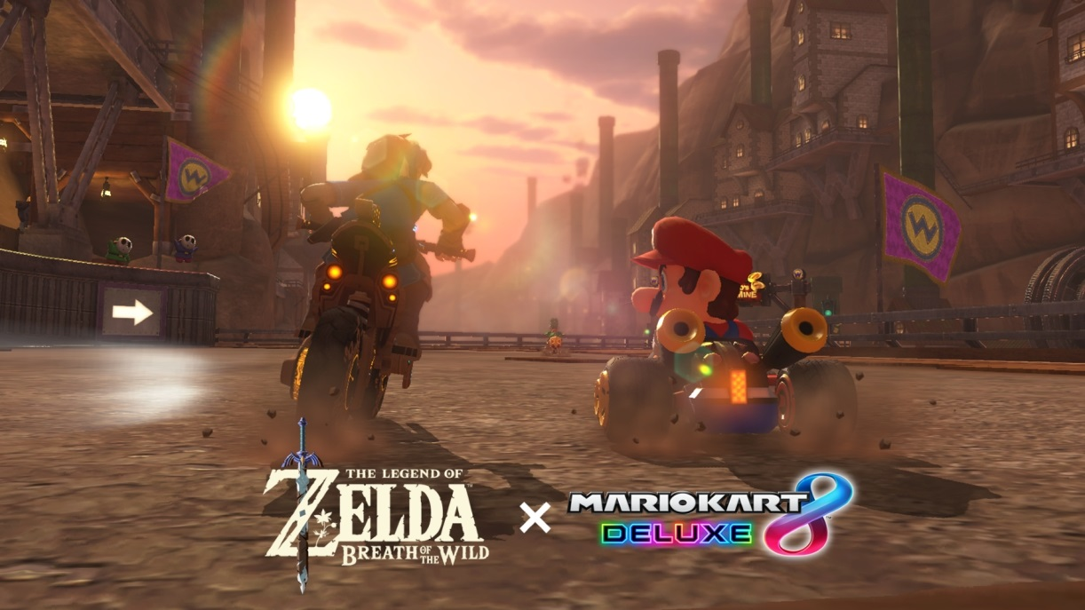 پیام تهیه کننده Mario Kart Deluxe 8 پیرامون بهروزرسانی The Legend of Zelda: BOTW
