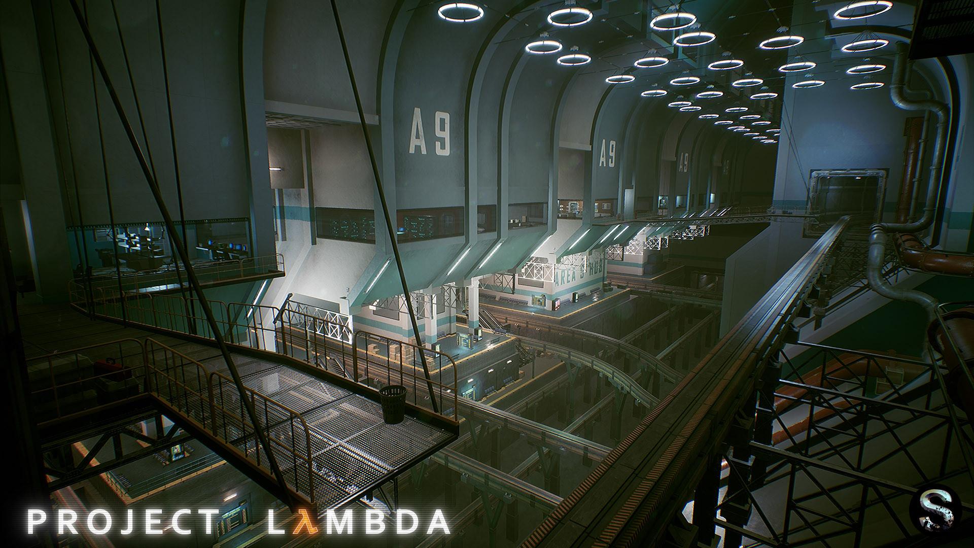 تصاویر زیبایی از پروژه بازسازی Half Life منتشر شد