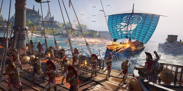 کارگردان بازی از سیستم مبارزات دریایی در Assassin's Creed Odyssey میگوید