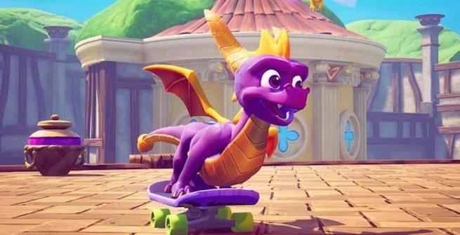 نسخهی نینتندو سوییچ Spyro Reignited Trilogy توسط فروشگاه Gamestop لیست شد