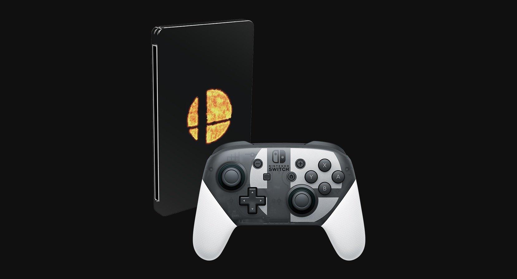 باندل و کنترلر جدید Super Smash Bros. Ultimate معرفی شد