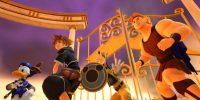 تصاویر جدید بازی Kingdom Hearts III شخصیتهای کوه المپیوس را نشان میدهد