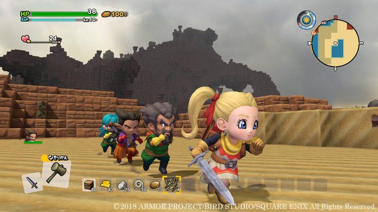 تریلر جدیدی از بخش چندنفرهی بازی Dragon Quest Builders 2 منتشر شد