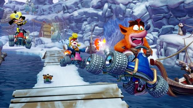 TGA 2018 | بازی Crash Team Racing: Nitro Fueled رسماً معرفی شد