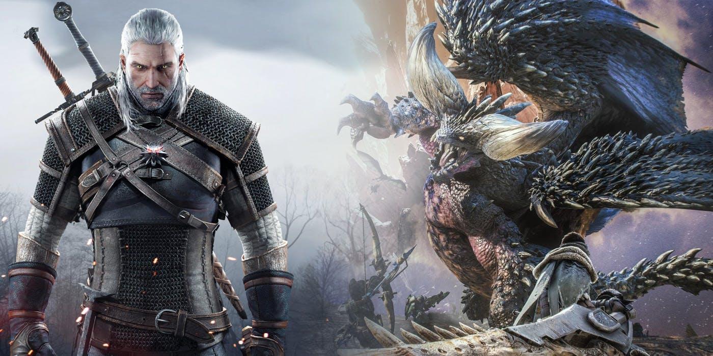تاریخ آغاز کراساور بین Monster Hunter World و The Witcher 3 مشخص شد