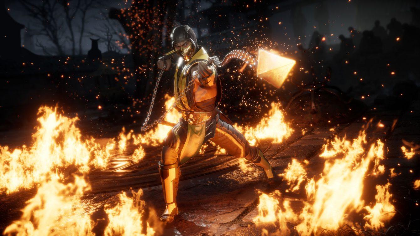 اولین تصویر از شخصیت اسکورپیون بازی Mortal Kombat 11 منتشر شد
