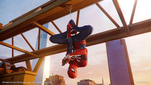 بازیبازان حرکت Leap of faith را در بازی Spider Man بازسازی کردهاند