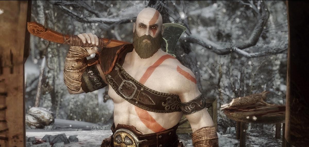 مادی جدید امکان تجربهی Skyrim در قالب شخصیت کریتوس را فراهم میکند
