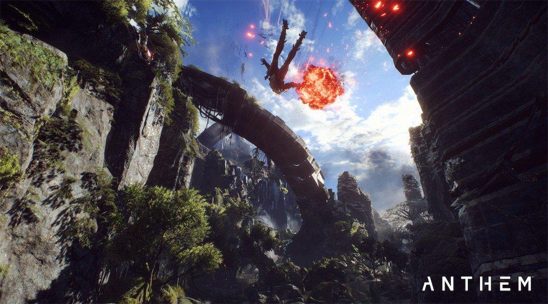 اطلاعاتی از بخشهای مختلف بازی Anthem منتشر شد