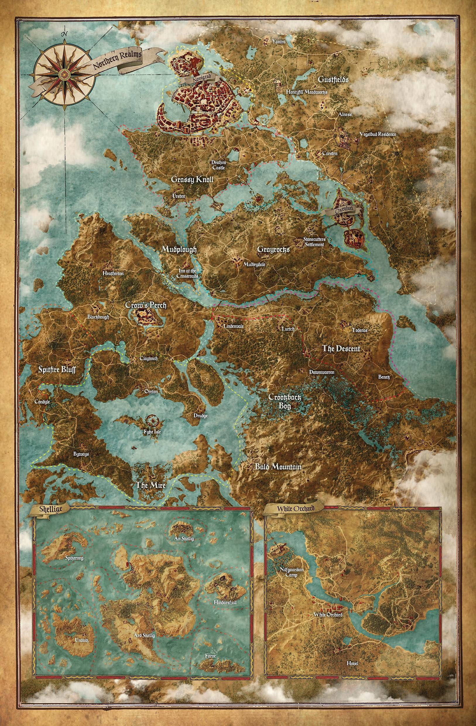 The 50 Biggest Video Game Maps