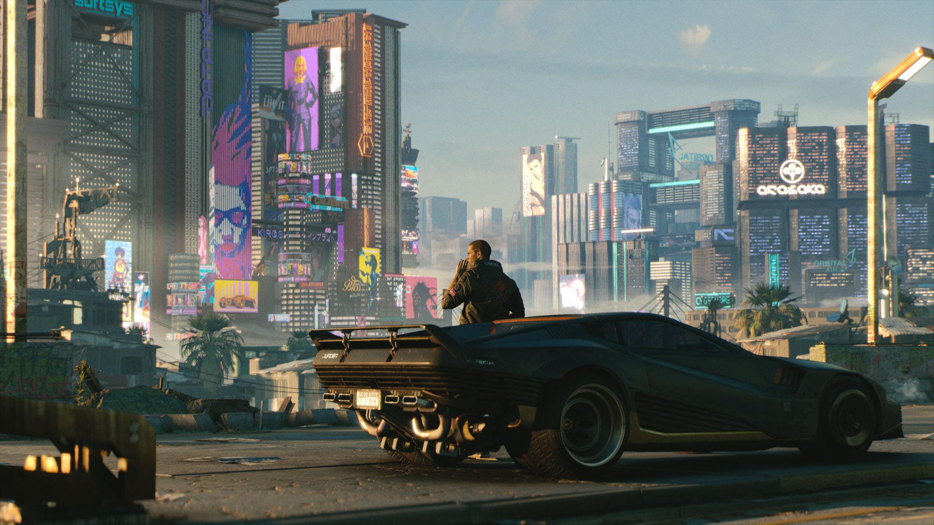 دو تصویر منتشر شده از Cyberpunk 2077 در پایان مراسم E3 2019