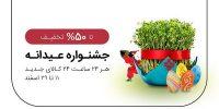 تخفیف خرید عیدی در فروشگاه اینترنتی شهر فافا