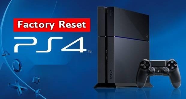 تکفارس؛ آموزش بازگردانی PS4 به تنظیمات کارخانه