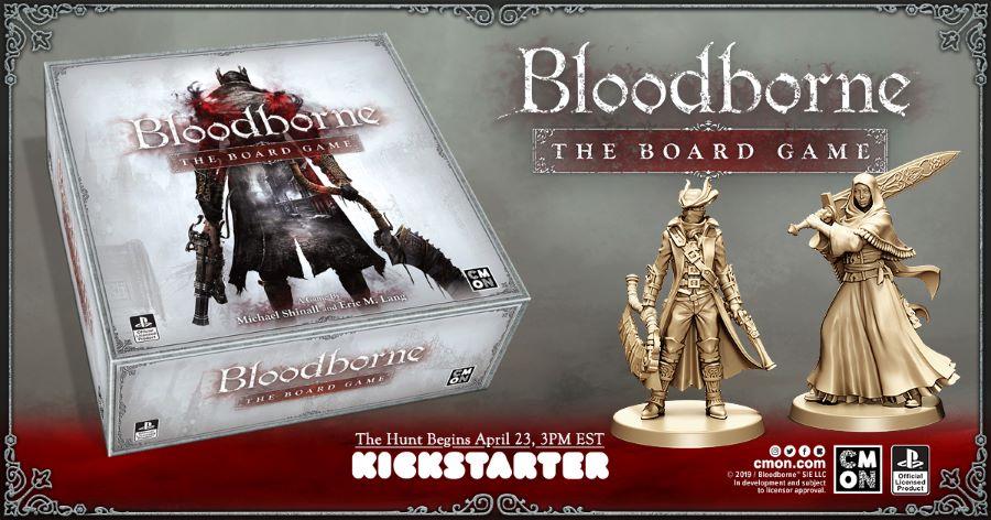 کمپین کیکاستارتر Bloodborne: The Board Game این ماه آغاز میشود