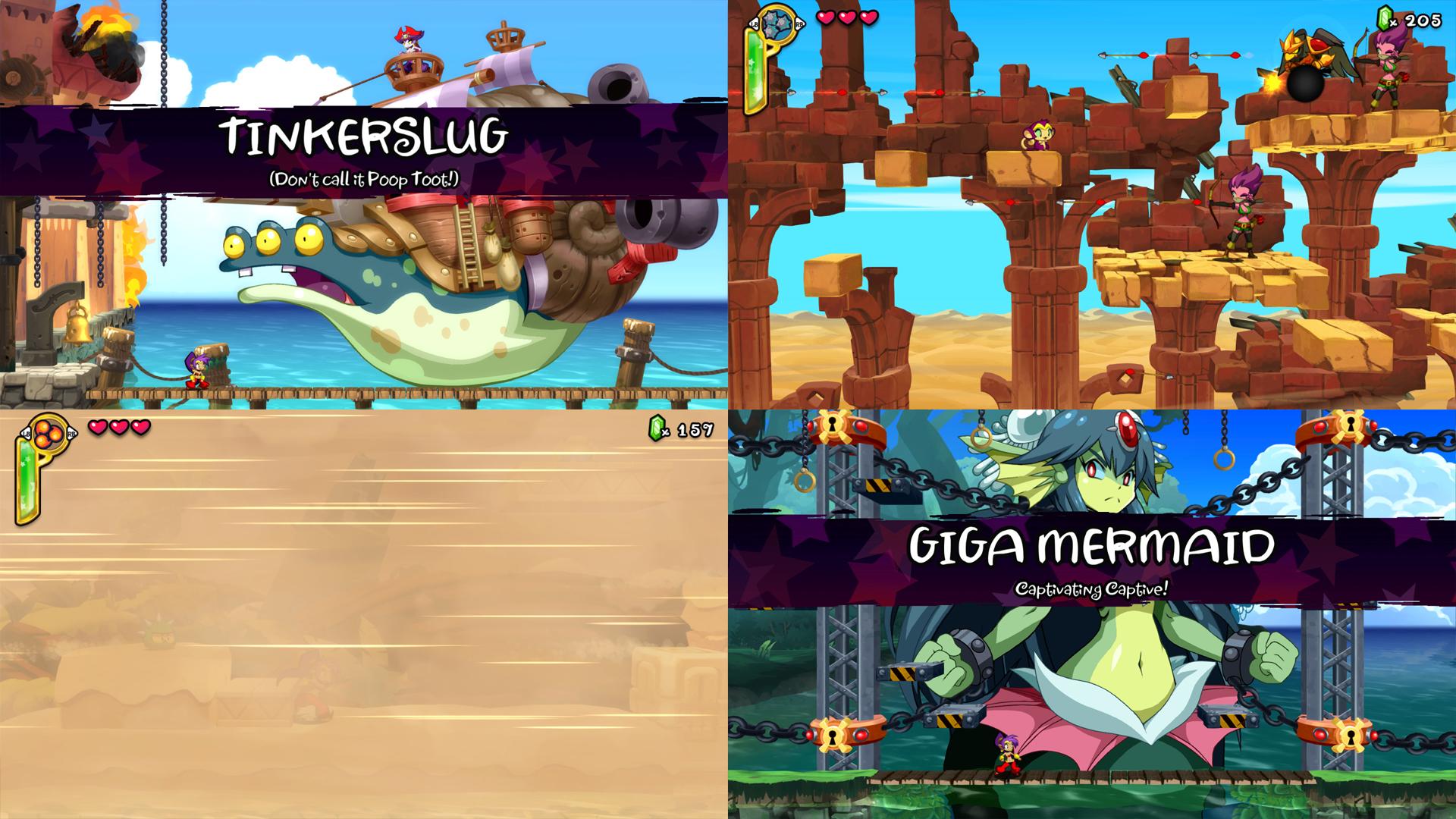 نمونهای از طراحی دشمنان و موانع مراحل مختلف