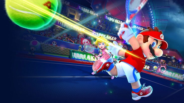 بهروزرسانی جدید بازی Mario Tennis Aces منتشر شد