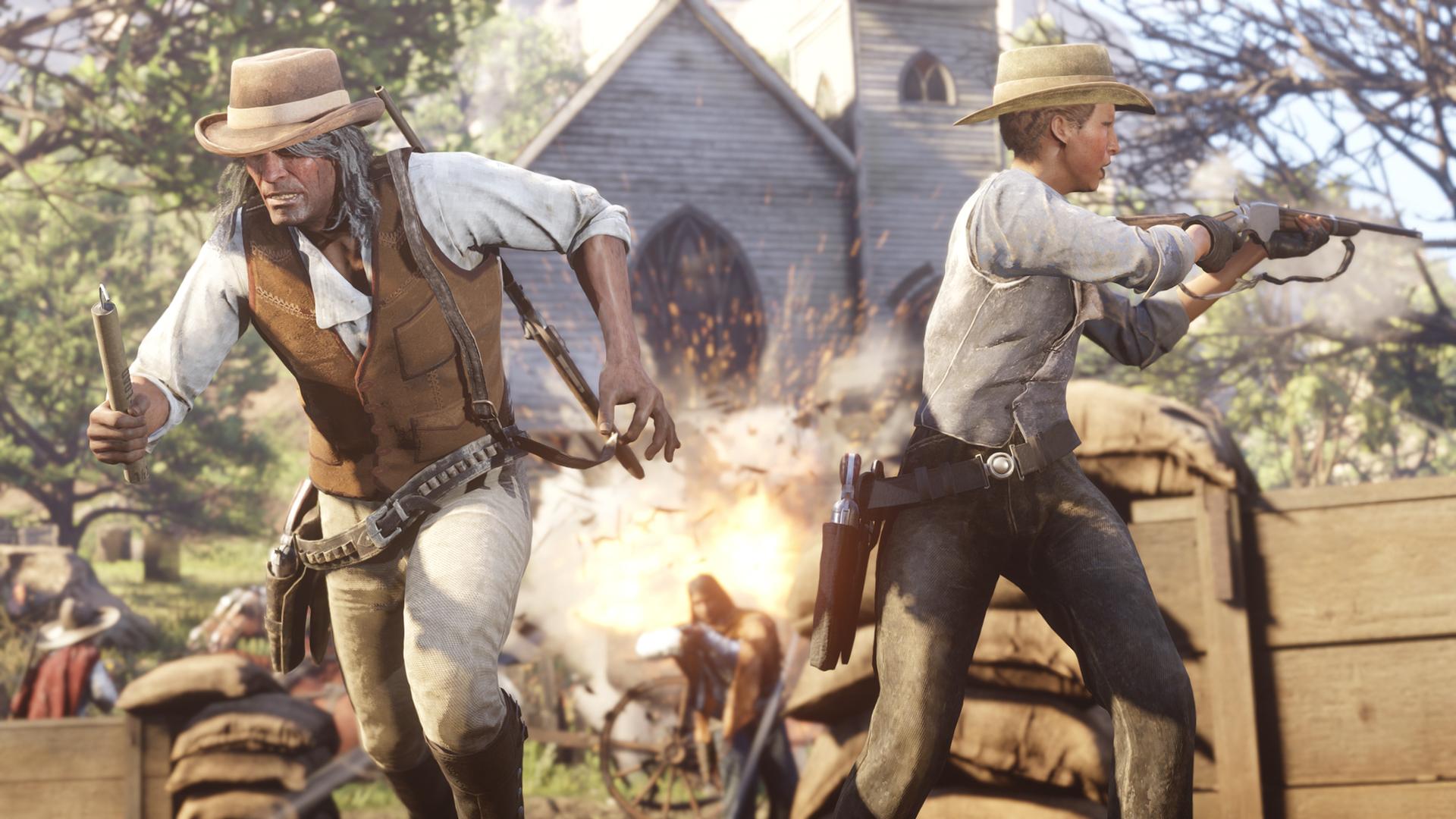 Red Dead Online به مدت محدود برای پلیاستیشن ۴ رایگان شد
