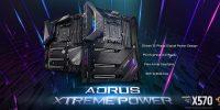 مادربردهای AORUS X570 با طعم نسخه چهارم PCI-Express