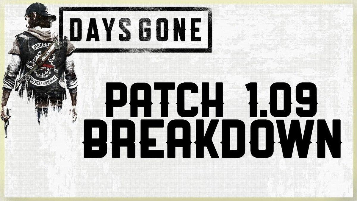 بهینهساز ۱٫۰۹ بازی Days Gone منتشر شد