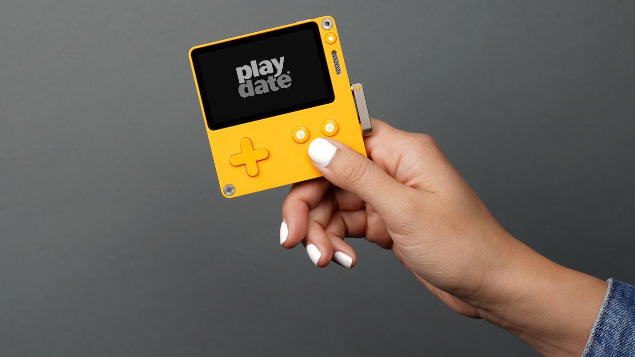 کنسول دستی جدیدی با نام PlayDate معرفی شد