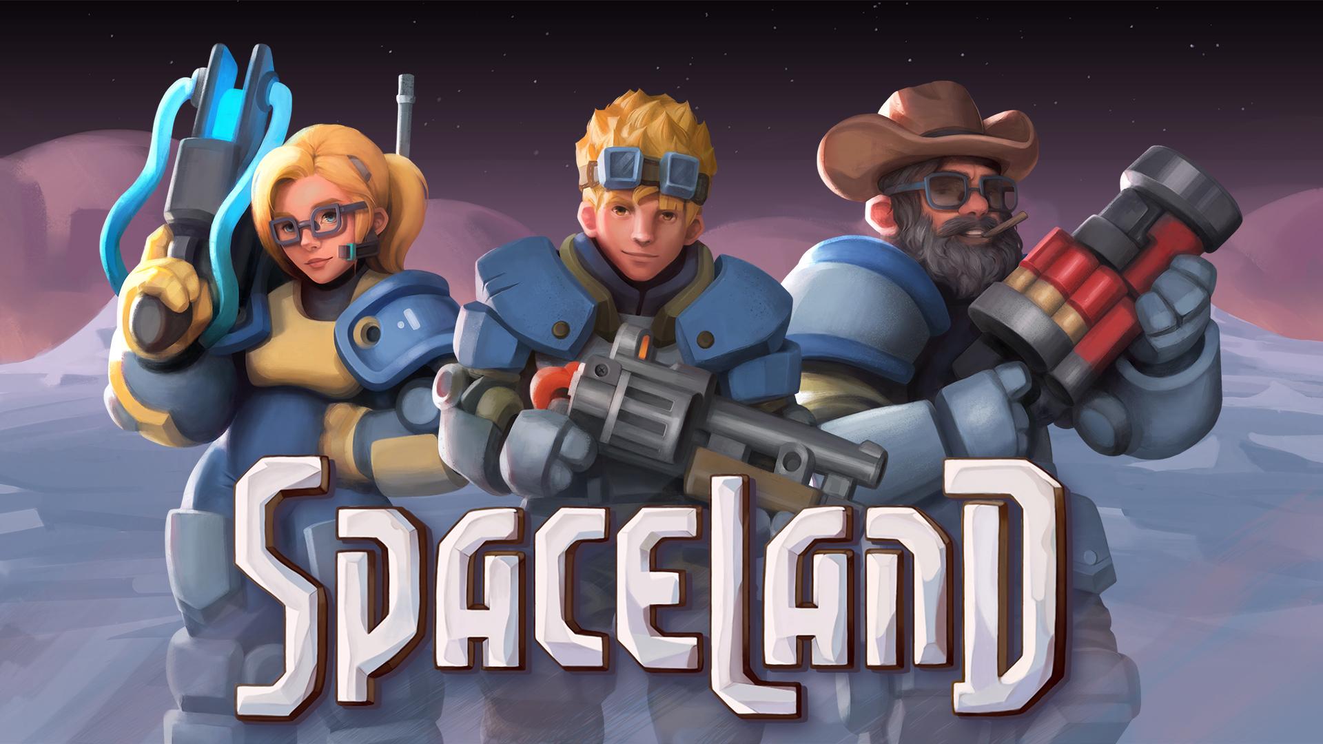 بازی علمی-تخیلی جدید شرکت Tortuga Team با نام Spaceland معرفی شد