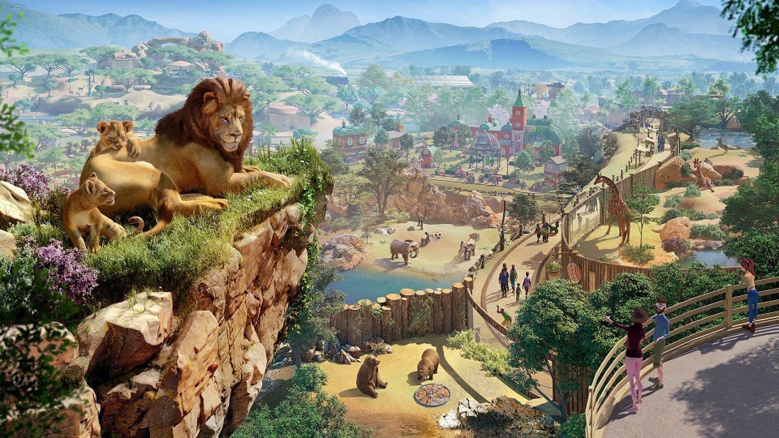 تریلر ۱۷ دقیقهای از گیمپلی بازی Planet Zoo منتشر شد