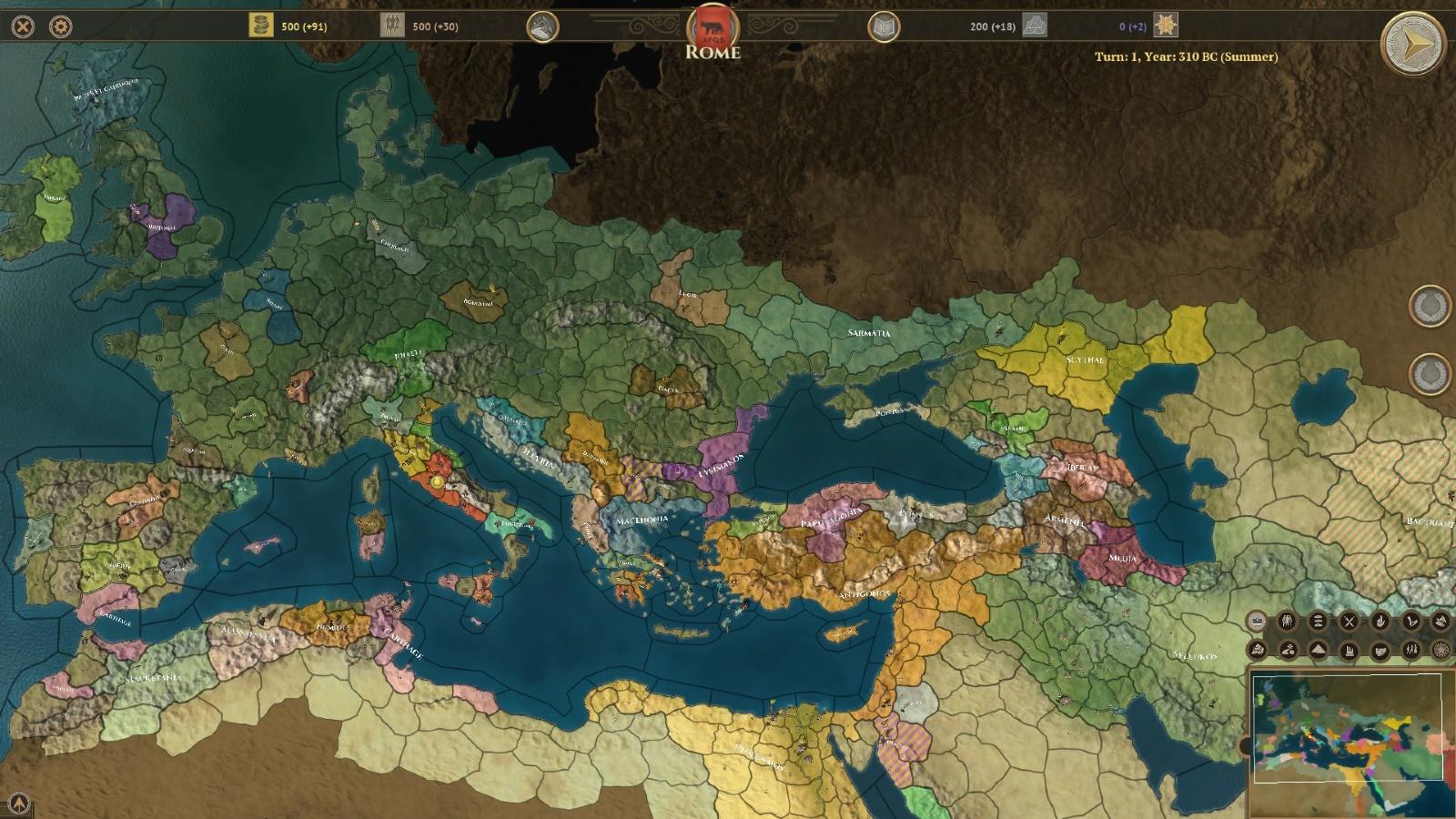 شکوه امپراطوری | نقدها و نمرات Field of Glory: Empires