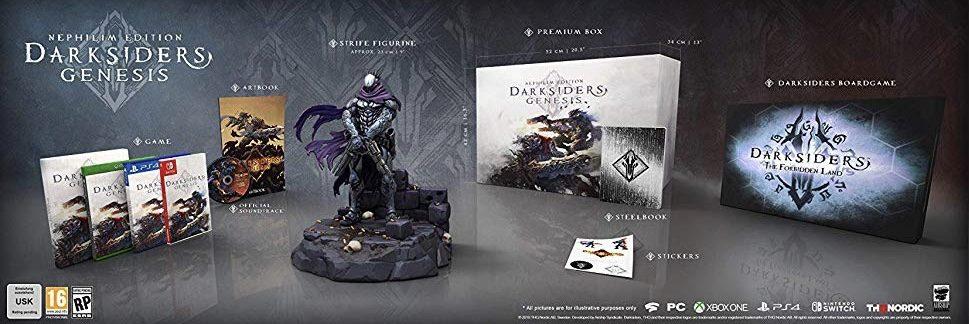 از نسخههای ویژهی بازی Darksiders Genesis رونمایی شد