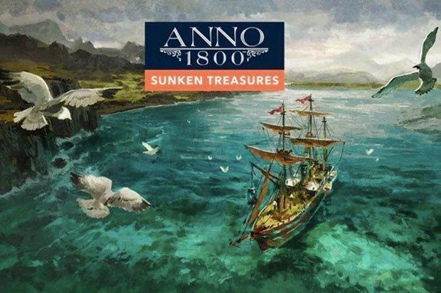 تاریخ انتشار بستهالحاقی Anno 1800: Sunken Treasures مشخص شد