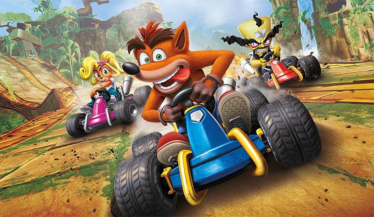 زمان بارگذاری در بهروزرسان جدید Crash Team Racing Nitro-Fueled کاهش یافته است