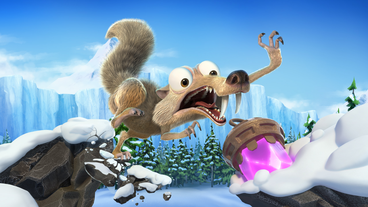 بازی Ice Age: Scrat's Nutty Adventure معرفی شد