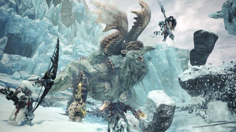اوجگیری هیولاها در سرزمین یخزده | نقدها و نمرات Monster Hunter World: Iceborne